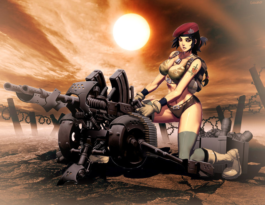 Cannon girl-GENZOMAN