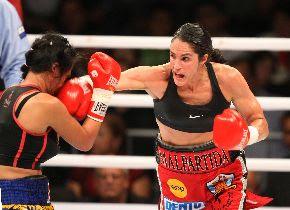 Kina defenderá título mundial ante dominicana Marilyn Hernández