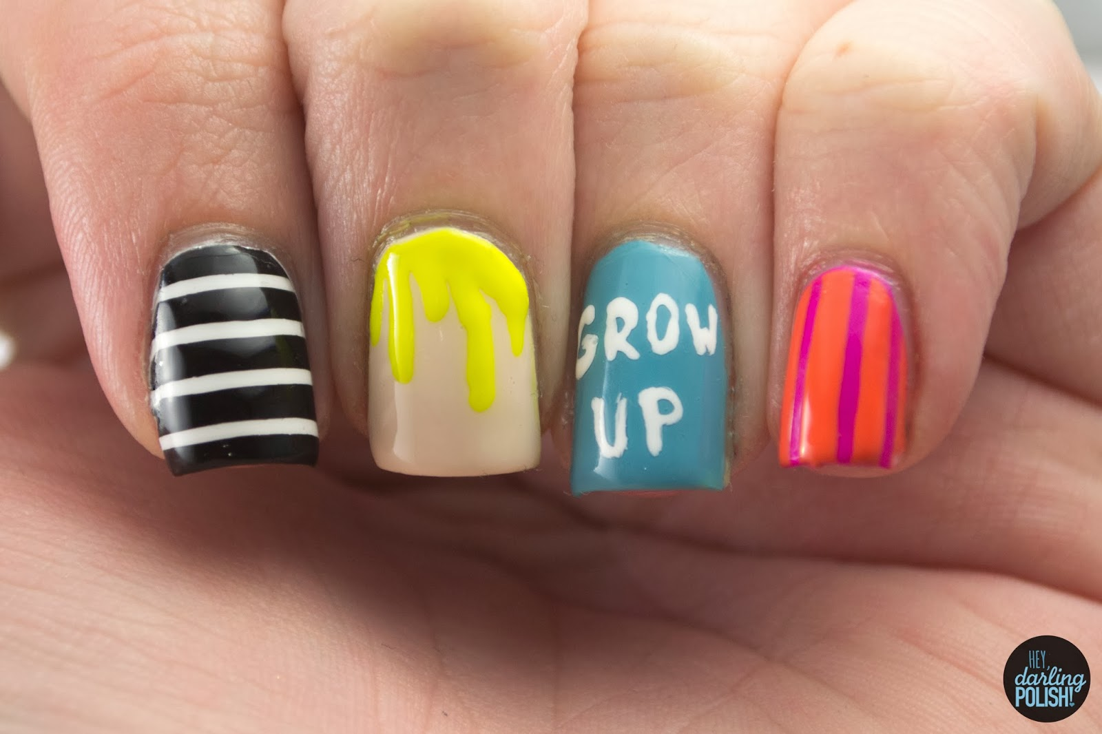 nails, nail art, nail polish, polish, hayley williams, lacquer legion, adoration, paramore, hey darling polish