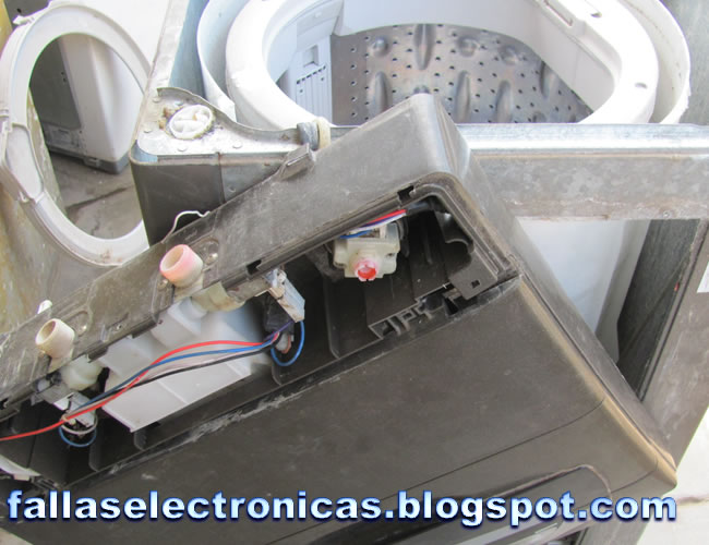 C 243 mo quitar tina endurecida de lavadora fallaselectronicas com