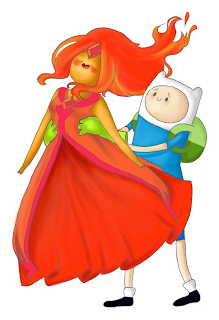 PNG's Hora de Aventura: Princesa de Fogo