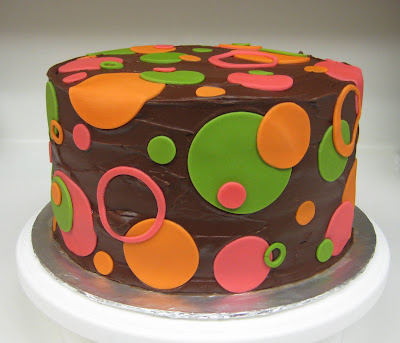 Polka Dot Cake - Level View