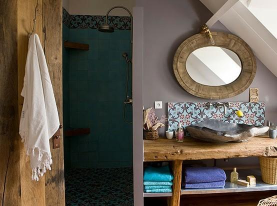 bagno etnico roma bagno legno grezzo mobili vendita e catalogo roma milano