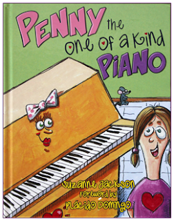 """Penny the One-of-a-Kind Piano"" provides music lessons for foster children"