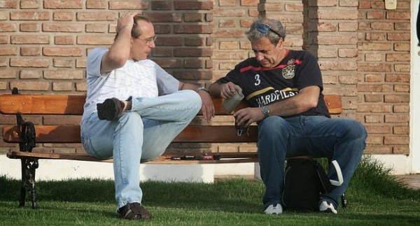 Germán Lerche y Rubén Moncagatta