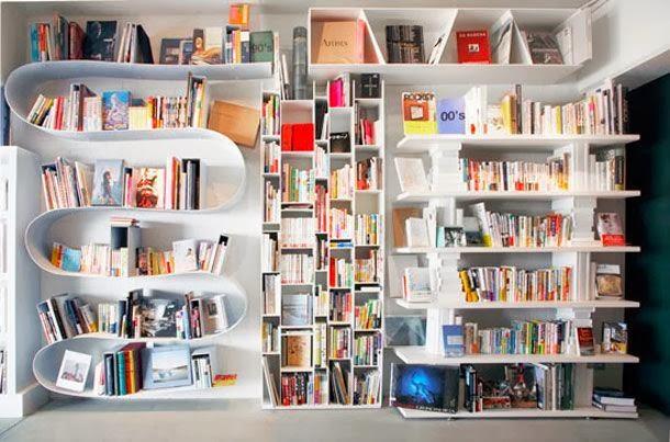 bookshelf designs for home on