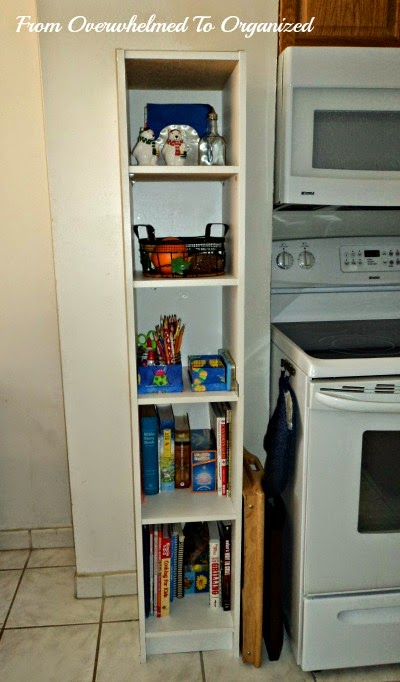 Maximizing vertical space in a small kitchen from for Off the shelf kitchen units