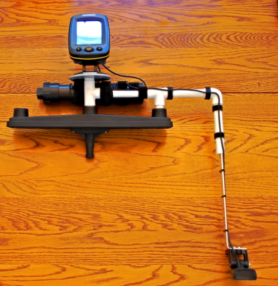 palmetto kayak fishing: diy portable fishfinder for your kayak, Fish Finder