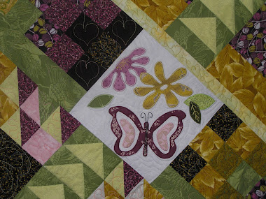Danica's Pink Butterfly Quilt