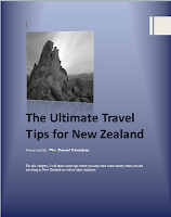 My Free Ebook - The Ultimate Travel Tips for New Zealand