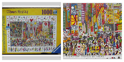 James Rizzy, 1000 piece puzzle, Ravensburger, jigsaw, puzzle, Ravensburger puzzle club, review