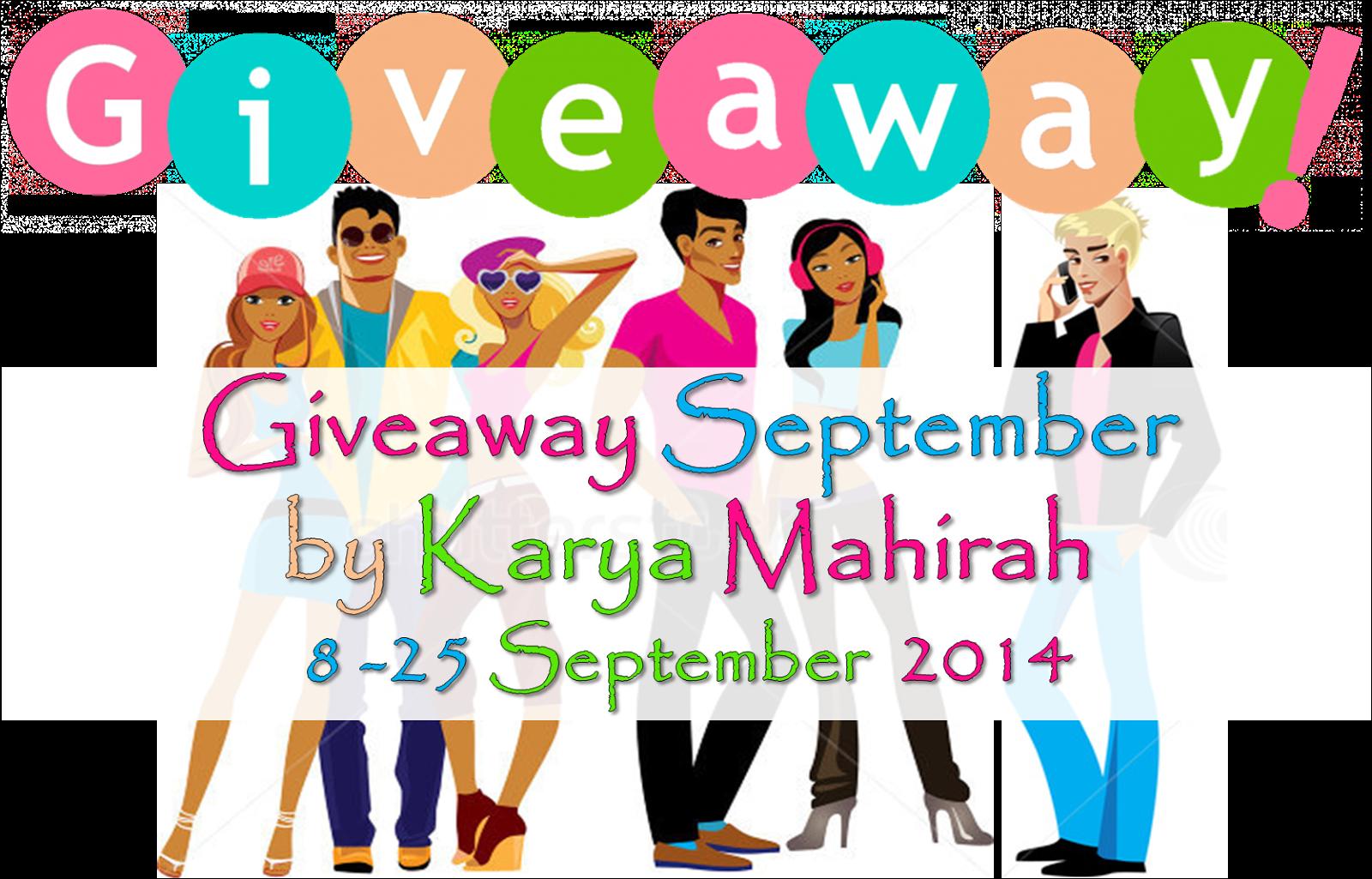 http://karyamahirah.blogspot.com/2014/09/giveaway-september-by-karya-mahirah.html