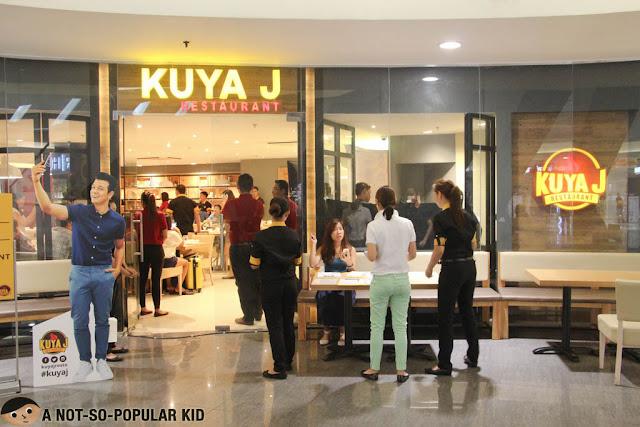 Kuya J restaurant in SM Megamall