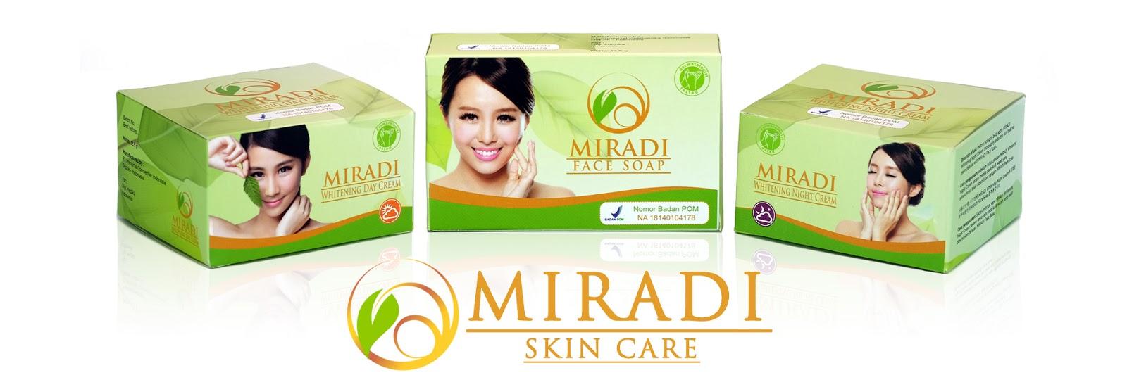 Paket Miradi Skincare Products