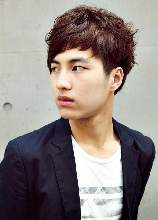 Gambar Gaya Model Rambut Pria Korea Keren