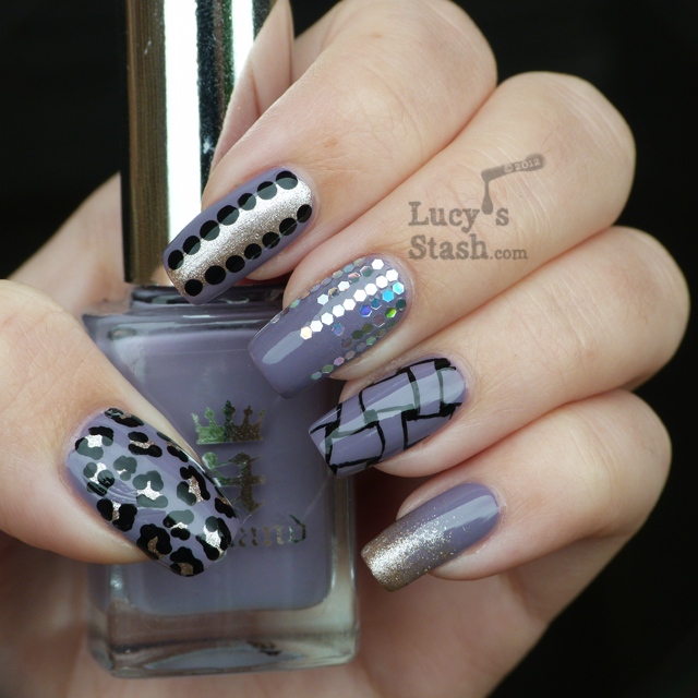 Lucy's Stash - Mash-up nail art