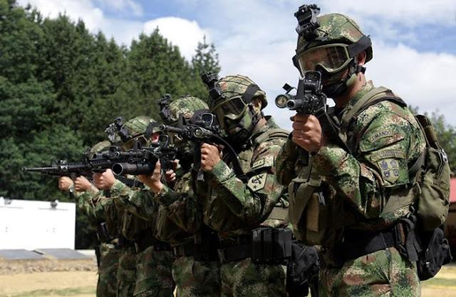 El Ejército desplegó hombres de Fuerzas Especiales a la frontera, luego de presentarse un incidente donde la comunidad denunció disparos de la Guardia Nacional venezolana hacia Colombia.