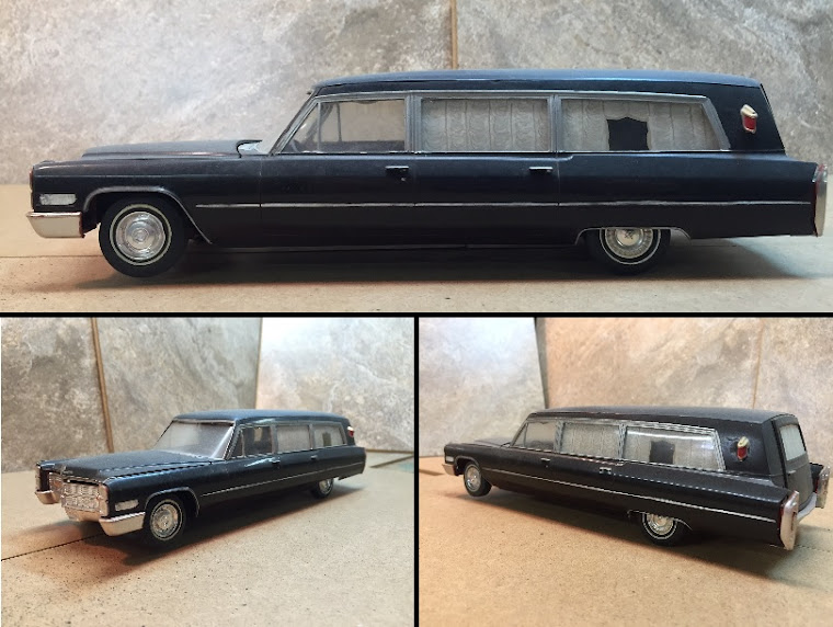 1966 Cadillac Full Coach Hearse