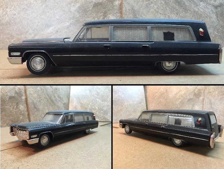 1966 Cadillac Full Coach Hearse
