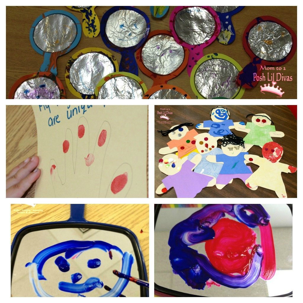 Here 39 s an inside peek at a few of my favorite activities for All about me toddler crafts