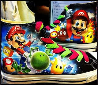 Converse All Star Mario Galaxy