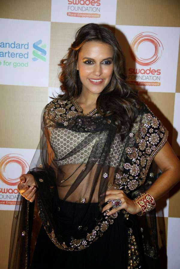 Neha Dhupia at Swades Foundation Fundraiser show