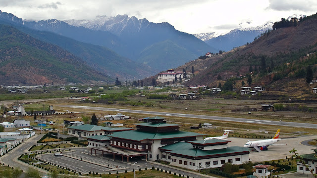 Aeropuertos mas peligrosos del mundo: Bhután