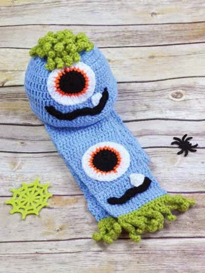 Free Crochet Hat Patterns For Halloween : Free Crochet Patterns and Tips: Free Halloween Crochet ...