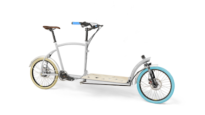 Porterlight custom cargo bike made in London