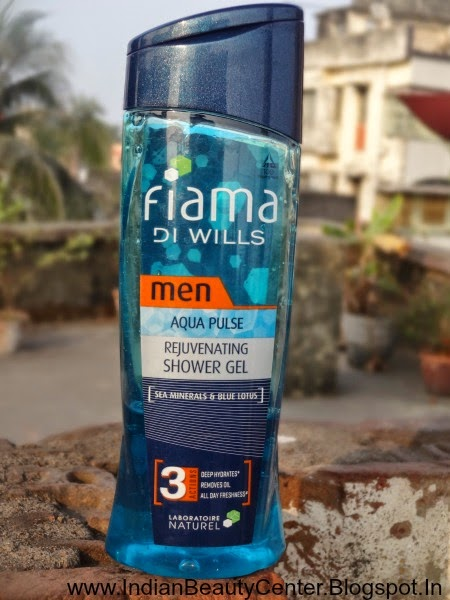 Fiama Di Wills Men Aqua Pulse Shower Gel Buy Online