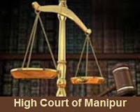 High Court, Manipur, Graduation, Clerk, high court of manipur logo
