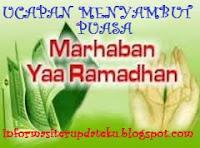 kata kata ucapan menyambut Ramadhan