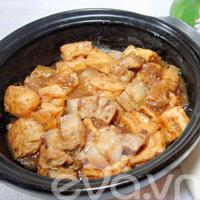 Thịt đậu kho tương bần ngon cơm