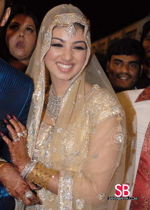 Priyanka Chopra and Nick Wedding Reception -- Ayesha Takia