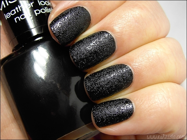 Misslyn Leather Look Nail Polish in no. 86 Overknees