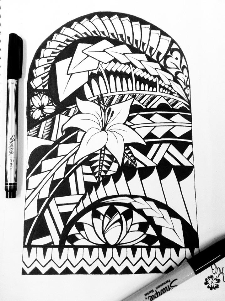 Samoan Art Designs : Here are tattoos beauteous maori tattoo sketch