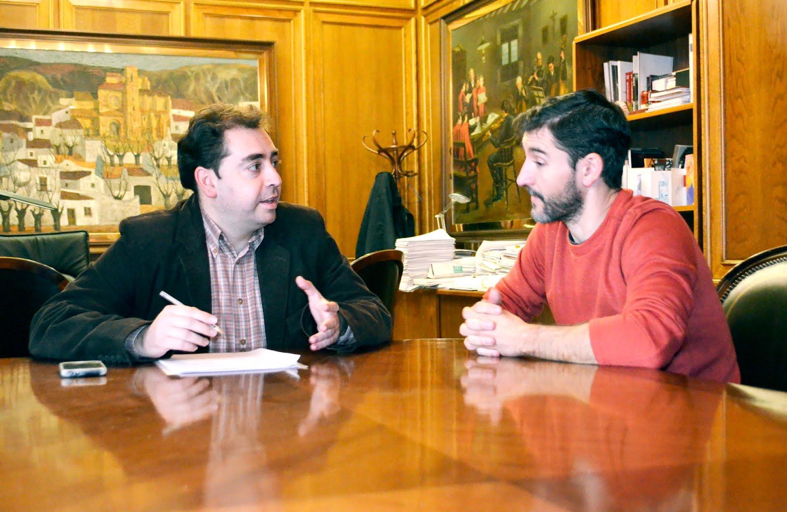 FIRMA DEL CONVENIO CON LA DIPUTACIÓN PROVINCIAL DE CUENCA