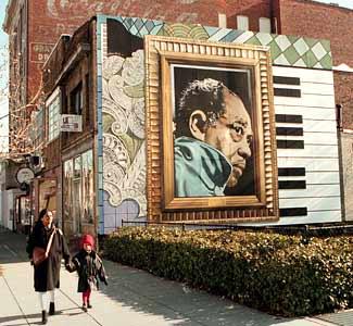 Musicians 39 memorial murals funnywebpark for Duke ellington mural