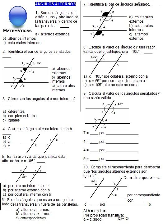 Ejercicios Geometria Parte 2 Julio 2012