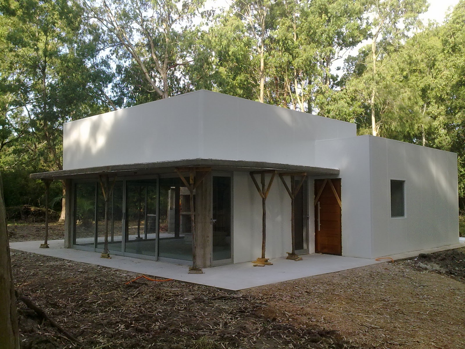 Bisas arquitectura y construcci n casa saavedra montaje for Arquitectura y construccion