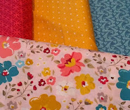 December mystery quilt fabrics