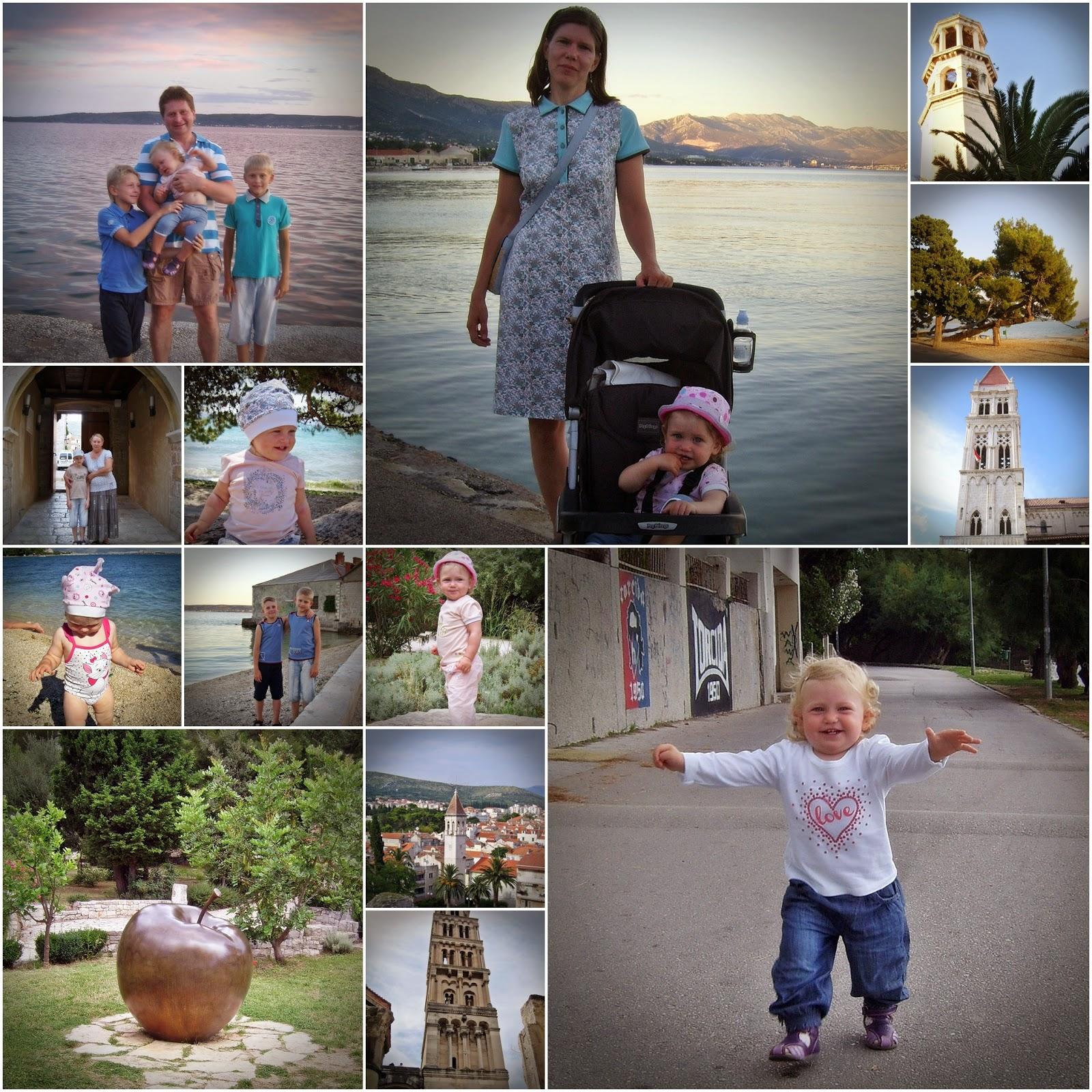 Хорватия. Фото детей на отдыхе
