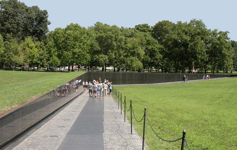 Washington Dc Bus Tour Vietnam Memorial Picture bus