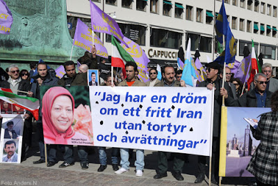 demonstration, iran, kungsportsplatsen, göteborg, foto anders n