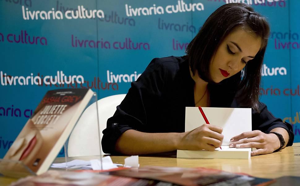 Sasha Grey Livraria Cultura