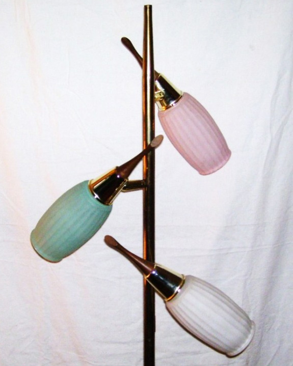 Retro Floor Lamps on Pros And Cons Of The Tension Pole Lamp  And Went With The Floor Lamp