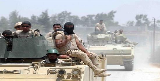 المتحدث العسكرى: مقتل 12 إرهابيا وتدمير مخزّنين للمواد المتفجرة بالشيخ زويد على يد القوات المسلحة