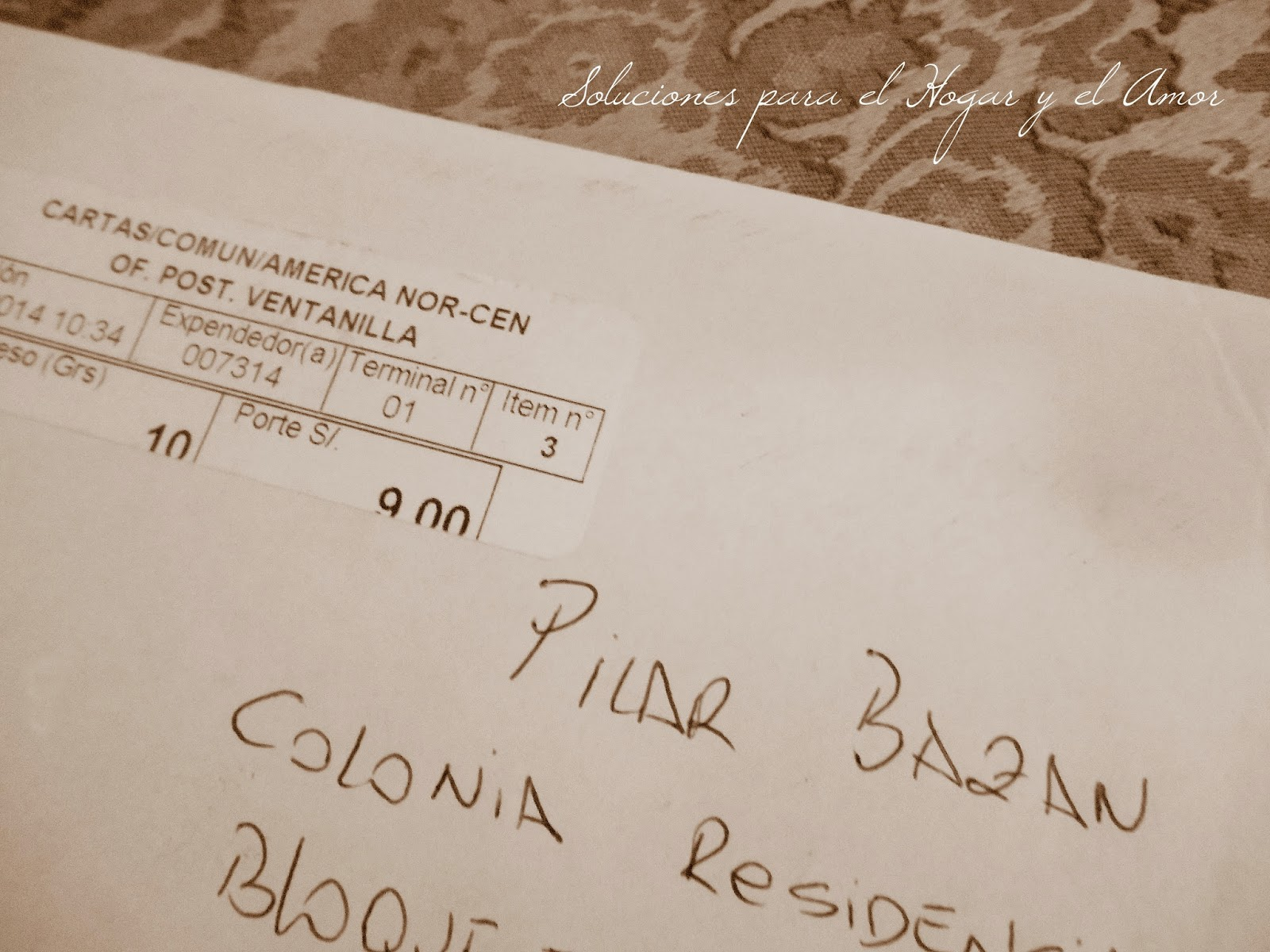 correspondencia, tarjeta, tela incaica,