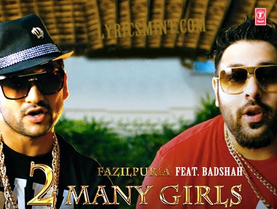 2 Many Girls by Badshah & Fazilpuria