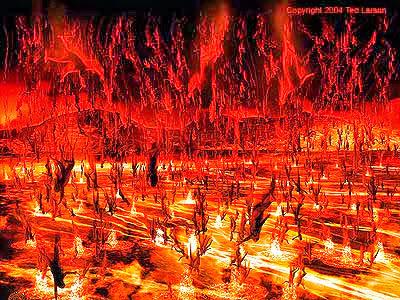 Gambaran Api Neraka